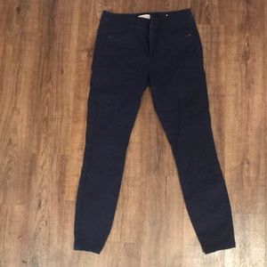 Loft outlet navy modern skinny ankle pants